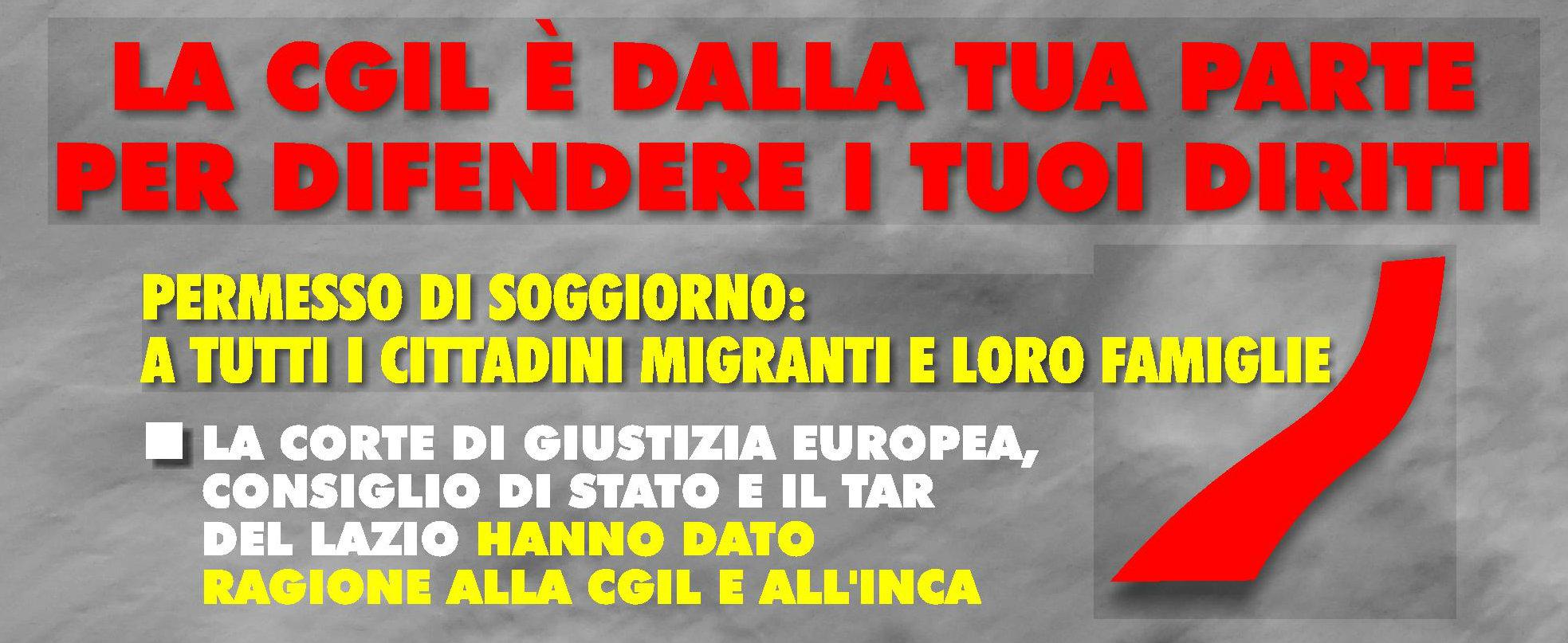 INCA Bologna - Rinnovo permessi di soggiorno